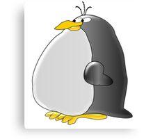 Fat Penguin Canvas Print