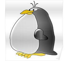 Fat Penguin Poster