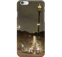 Hyde Park & Centrepoint Tower, Sydney, Australia iPhone Case/Skin