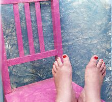 Feet, what do I need you for when I have wings to fly?  by Julia  Thomas