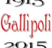 1915 Gallipoli 2015  by scholara