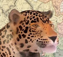 Leopard Design Illustration by Katiewassdesign