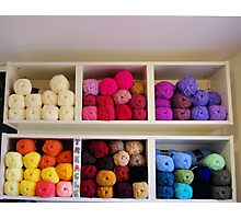 The Wool Shop Photographic Print
