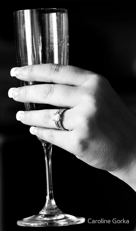 Raise my glass to you by Caroline Gorka