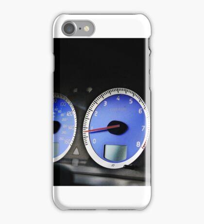 Volvo S60R Cluster FAST RARE iPhone Case/Skin