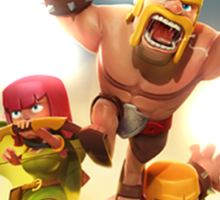 Clash of Clans Awesome Art Sticker