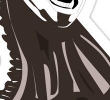 black horse chess piece Sticker