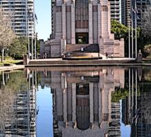 ANZAC Memorial, Hyde Park, Sydney, Australia 2012 Sticker