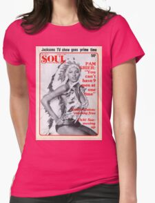 Soul Cover Oct '76 Womens Fitted T-Shirt