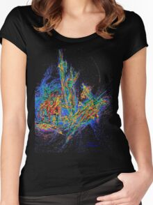 The WAR IN HEAVEN Women's Fitted Scoop T-Shirt