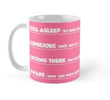 Morning communication levels mug - Womens Mug