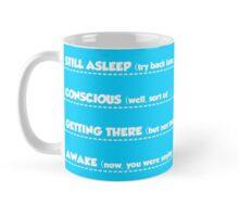 Morning communication levels mug - Mens Mug