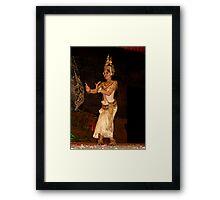Classical Dancer, Siem Reap, Cambodia Framed Print