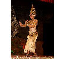 Classical Dancer, Siem Reap, Cambodia Photographic Print
