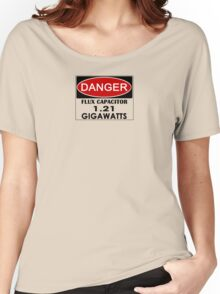 Flux Capacitor - 1.21 Gigawatts Warning Women's Relaxed Fit T-Shirt