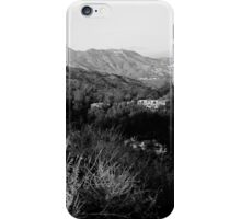 Hollywood Hills iPhone Case/Skin