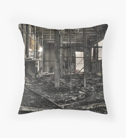 the old bulli brickyard Throw Pillow