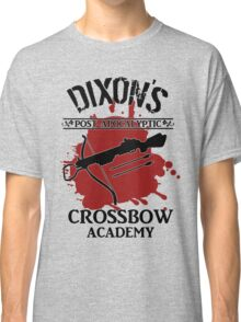 DIXON'S POST-APOCALYPTIC CROSSBOW ACADEMY Classic T-Shirt