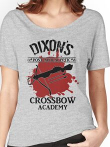 DIXON'S POST-APOCALYPTIC CROSSBOW ACADEMY Women's Relaxed Fit T-Shirt