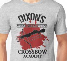 DIXON'S POST-APOCALYPTIC CROSSBOW ACADEMY Unisex T-Shirt