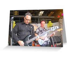 Paul Vanzella rocks out! Greeting Card