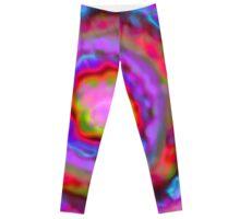geode rainbow Leggings