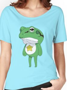 Sgt. Keoro (wearing frog disguise) Women's Relaxed Fit T-Shirt