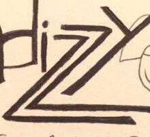 Hdizzy #2 Sticker