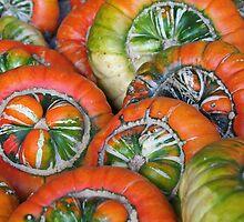 Wheels - or pumpkins by Stefanie Köppler