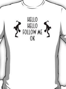 Abe's Hello (Black Design) T-Shirt