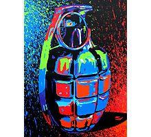 Paint Bomb Photographic Print