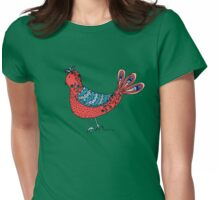 Hen Womens Fitted T-Shirt