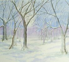 'Winter' : £250 by Patricia Welsh