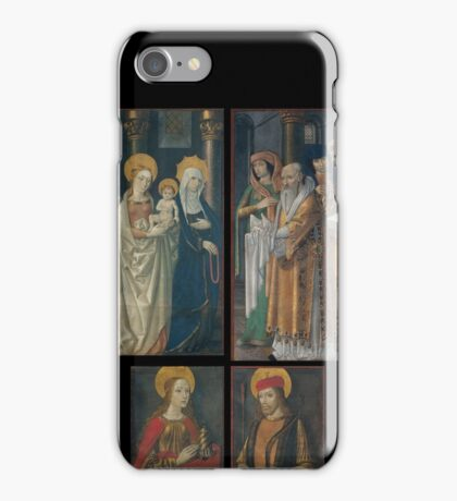 Master of La Seu d'Urgell - 1495-98 iPhone Case/Skin