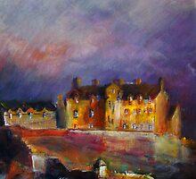 Edinburgh Castle by Fee Dickson