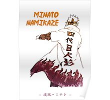 Minato Namikaze Poster