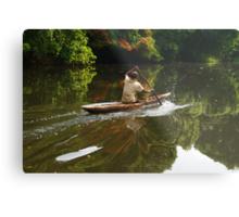 Lobé River Explorer Metal Print