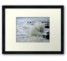 Stormy Seas Framed Print