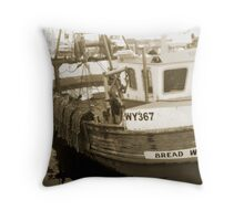 bread winners Throw Pillow