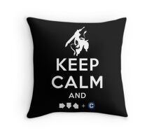 Keep Calm and INFERNO DIVIDER! Throw Pillow