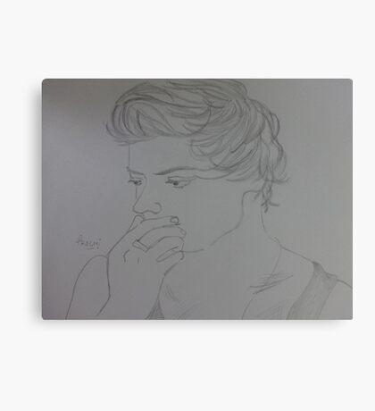 Harry Styles Canvas Print