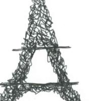 Paris with love Sticker