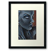Indigo Framed Print