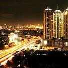 City Night View  by anwarsalim