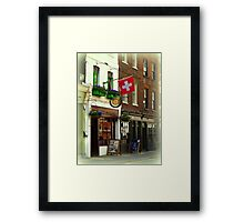 Switzerland in London Framed Print