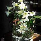 Easter Blessings Card by lezvee