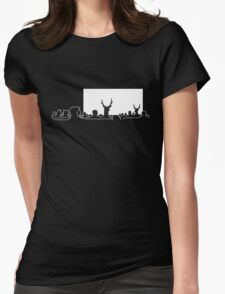 Surrealist Cinema Womens Fitted T-Shirt