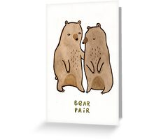 Bear Pair Greeting Card