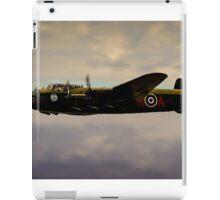 Avro Lancaster / Lancaster  Bomber Digital Painting - World War 2 Art - WWII - WW2 Art Military iPad Case/Skin