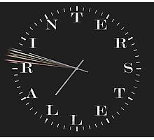 Interstellar Afraid of Time Photographic Print